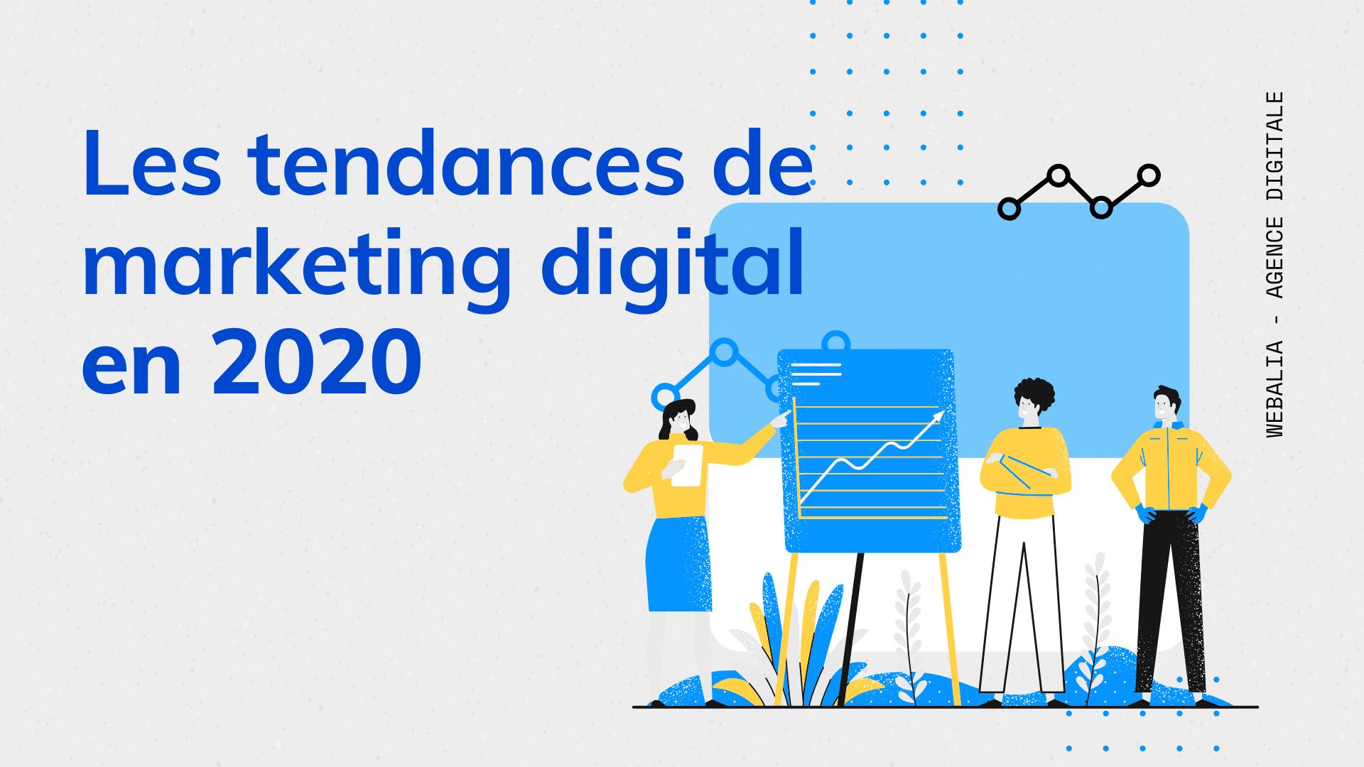 Les tendances de marketing digital en 2020